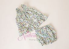 Newborn Baby Top & Bloomer Set